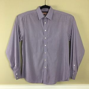 Thomas PINK super slim Button Front Shirt